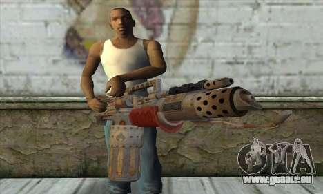 Lance-flammes pour GTA San Andreas troisième écran