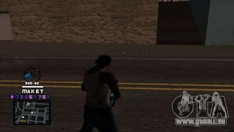 C-HUD Maket für GTA San Andreas zweiten Screenshot
