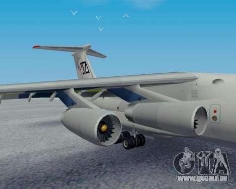 Il-76TD Aviacon zitotrans pour GTA San Andreas vue de droite