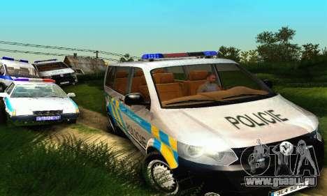 Volkswagen Transporter Policie pour GTA San Andreas vue de côté