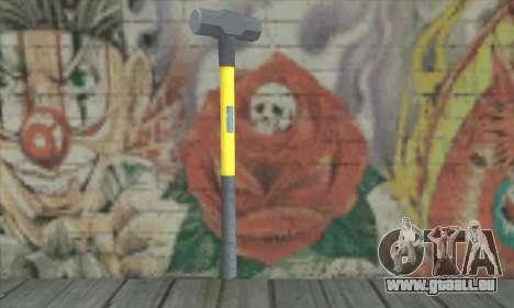 Hammer für GTA San Andreas zweiten Screenshot