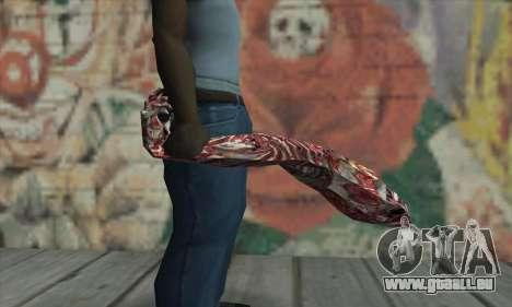 Dead hand pour GTA San Andreas troisième écran