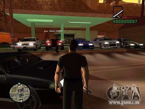 SA-MP 0.3z pour GTA San Andreas cinquième écran