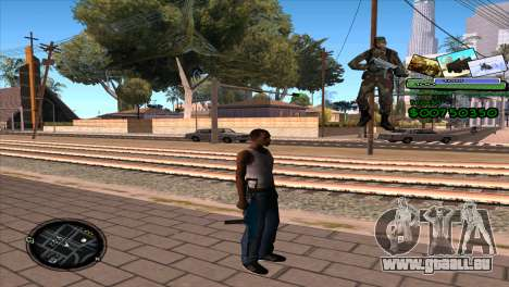 C-HUD Army pour GTA San Andreas