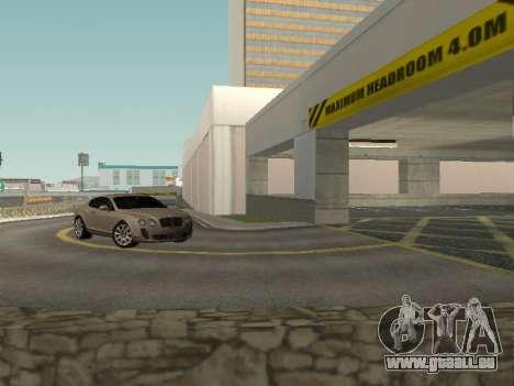 Bentley Continental Supersports für GTA San Andreas rechten Ansicht