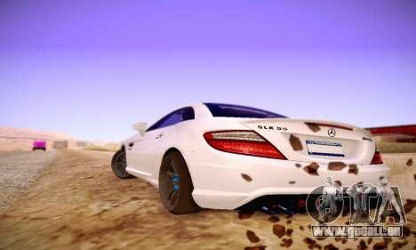 Mercedes Benz SLK55 AMG 2011 für GTA San Andreas rechten Ansicht