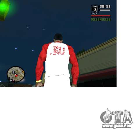 Olympischen Form Russland für GTA San Andreas zweiten Screenshot