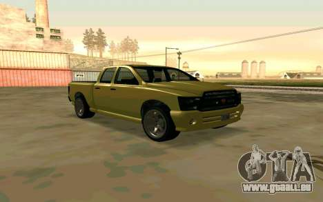 GTA V Bison Version 2 FIXED pour GTA San Andreas