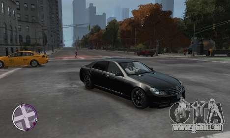 Enus Cognoscenti pour GTA 4 Vue arrière