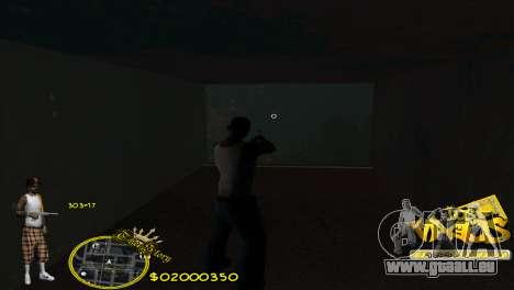 C-HUD Vagos by HARDy pour GTA San Andreas deuxième écran