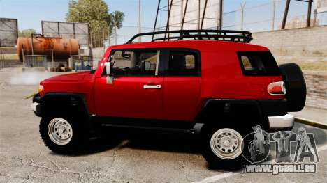 Toyota FJ Cruiser 2012 für GTA 4 linke Ansicht
