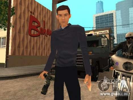 Peter Parker aus das Spiel Spider-Man 2 für GTA San Andreas