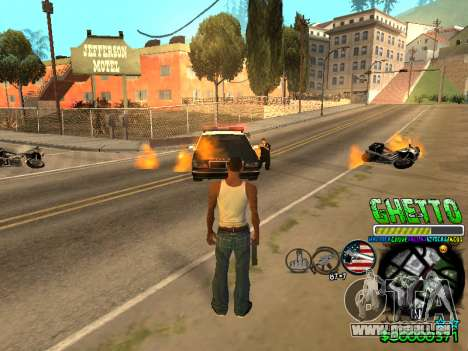 C-HUD Ghetto Life für GTA San Andreas zweiten Screenshot
