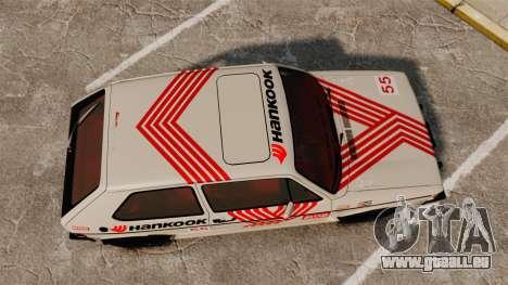 Volkswagen Rabbit GTI 1984 für GTA 4 rechte Ansicht
