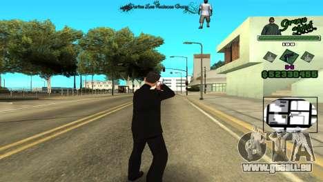 Hud By Tony für GTA San Andreas zweiten Screenshot