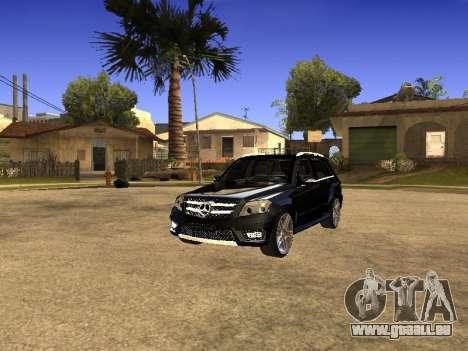 Mercedes-Benz GLK pour GTA San Andreas vue de droite