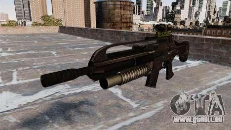 Fusil automatique SCAR pour GTA 4