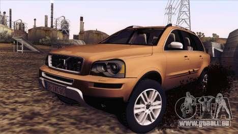Volvo XC90 2009 pour GTA San Andreas laissé vue