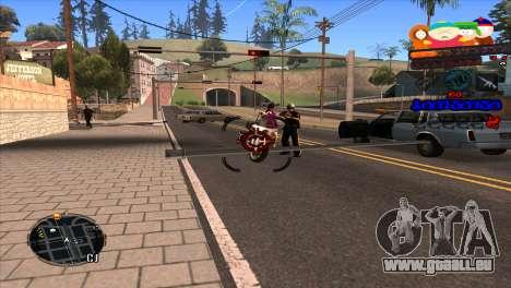 C-HUD South Park für GTA San Andreas dritten Screenshot
