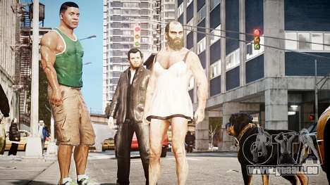 GTA V Trevor Philips für GTA 4 dritte Screenshot