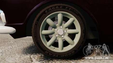 Lotus Cortina 1963 pour GTA 4 Vue arrière