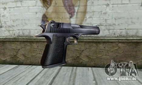 Desert Eagle из Counter Strike pour GTA San Andreas deuxième écran