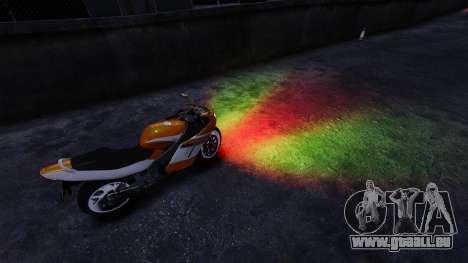Mixed-Scheinwerfer für GTA 4 Sekunden Bildschirm