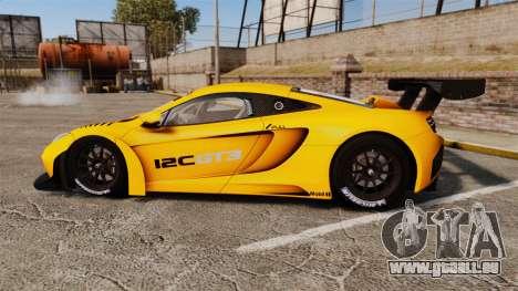 McLaren MP4-12C GT3 (Updated) für GTA 4 linke Ansicht