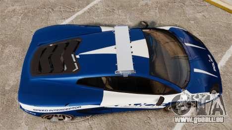 GTA V Pagassi Vacca Police für GTA 4 rechte Ansicht