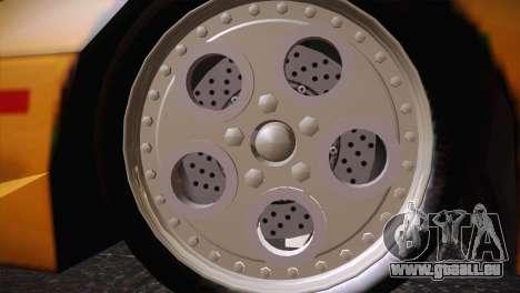 Lamborghini Diablo Stretch pour GTA San Andreas vue de droite
