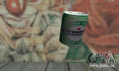 Heineken Grenade pour GTA San Andreas deuxième écran