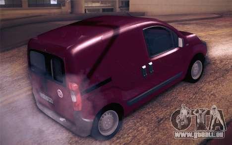 Fiat Fiorino für GTA San Andreas linke Ansicht