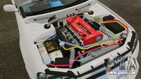 Nissan Skyline GT-R R34 V-Spec 1999 pour GTA 4 Vue arrière