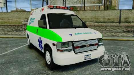 Vapid Speedo Rural Metro EMS [ELS] für GTA 4