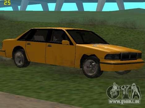 Premier 2012 pour GTA San Andreas moteur
