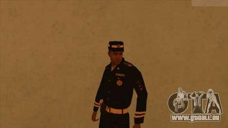 Les peaux de la police et de l'armée pour GTA San Andreas cinquième écran