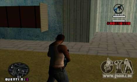C-HUD Quentin pour GTA San Andreas deuxième écran
