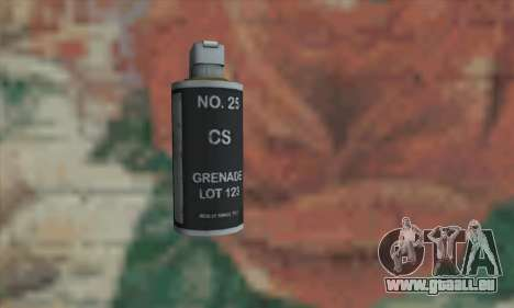 Gas grenade pour GTA San Andreas