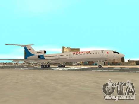 Tu-154 B-2 SCC Russland für GTA San Andreas Innenansicht