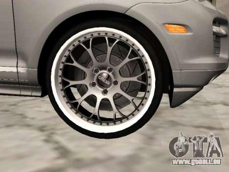 Porsche Cayenne Turbo S pour GTA San Andreas vue de droite