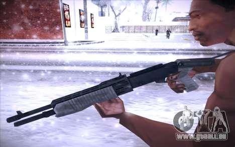 Spas 12 pour GTA San Andreas troisième écran