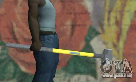 Hammer für GTA San Andreas dritten Screenshot