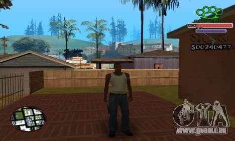 C-HUD Gangster by NickQuest für GTA San Andreas