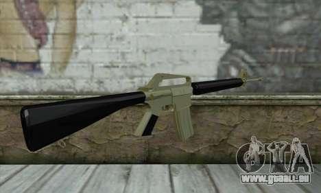 M16 für GTA San Andreas zweiten Screenshot