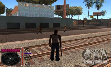 C-HUD by Andy Cardozo pour GTA San Andreas