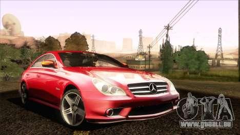 Mercedes-Benz CLS 63 AMG 2008 für GTA San Andreas