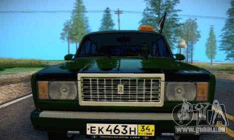 VAZ 2107 VDV pour GTA San Andreas vue de côté