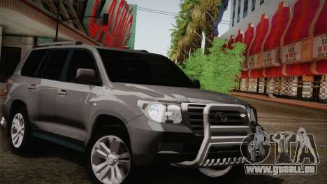 Toyota Land Cruiser 200 pour GTA San Andreas moteur