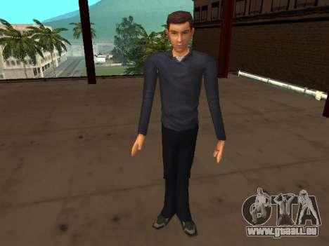 Peter Parker du jeu Spider-Man 2 pour GTA San Andreas quatrième écran