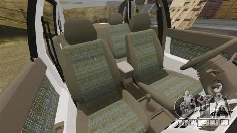 ВАЗ-2170 Installé Avant pour GTA 4 est une vue de dessous